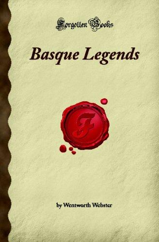 9781605060910: Basque Legends (Forgotten Books)