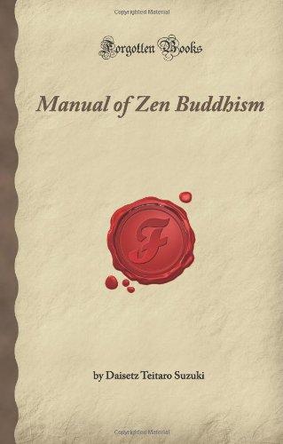 9781605061313: Manual of Zen Buddhism (Forgotten Books)