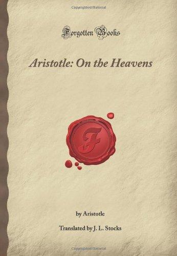 9781605063348: Aristotle: On the Heavens: (Forgotten Books)