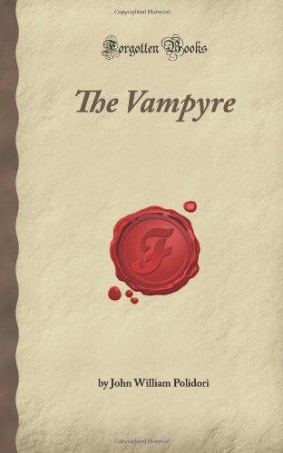 9781605065694: The Vampyre (Forgotten Books)