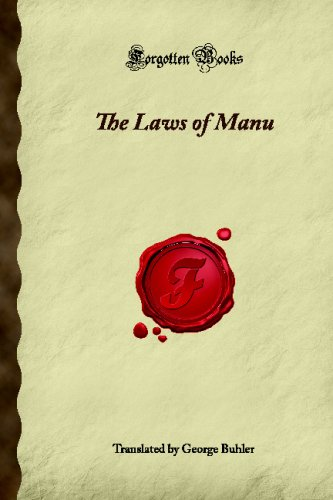 9781605066028: The Laws of Manu (Forgotten Books)
