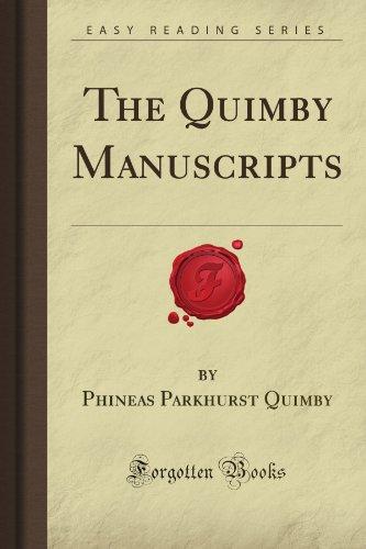 9781605069159: The Quimby Manuscripts (Forgotten Books)