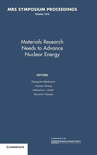 Materials Research Needs To Advance Nuclear Energy