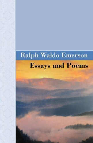 essays and poems by emerson