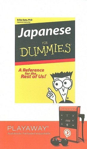 9781605145884: Japanese for Dummies: Library Edition