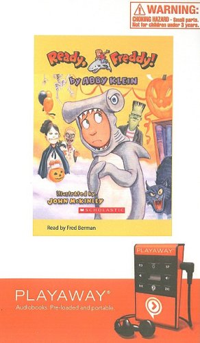 9781605147055: Help! a Vampire Is Coming/Halloween Fraidy-Cat [With Headphones] (Ready, Freddy! (Playaway))