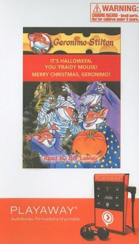 9781605147239: It's Halloween, You 'fraidy Mouse! / Merry Christmas, Geronimo!: Library Edition (Geronimo Stilton)