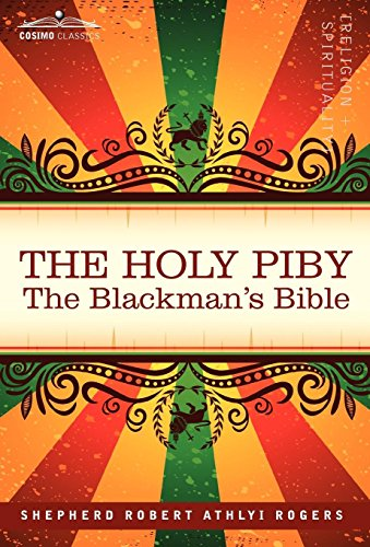 9781605200538: The Holy Piby: The Blackman's Bible