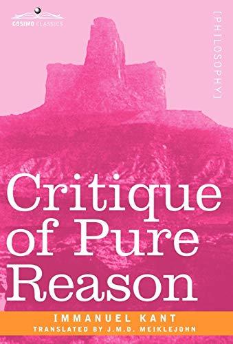 9781605204505: Critique of Pure Reason