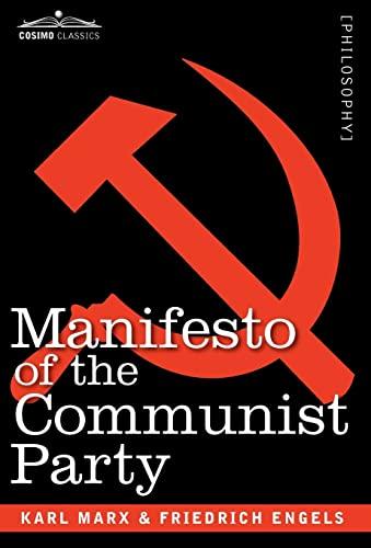 9781605207995: Manifesto of the Communist Party