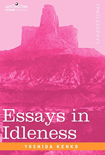 essays in idleness the tsurezuregusa of kenko  9781605208053 essays in idleness