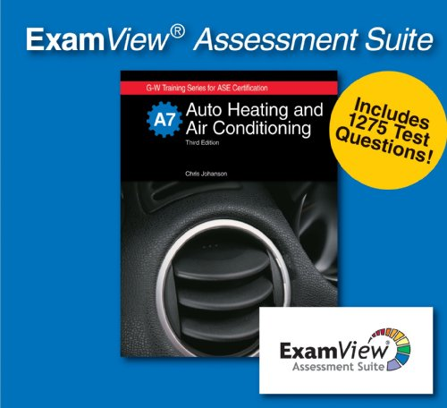 Auto Heating and Air Conditioning ExamView Assessment Suite