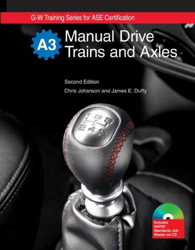 Manual Drive Trains and Axles (1605250473) by Chris Johanson; James E. Duffy