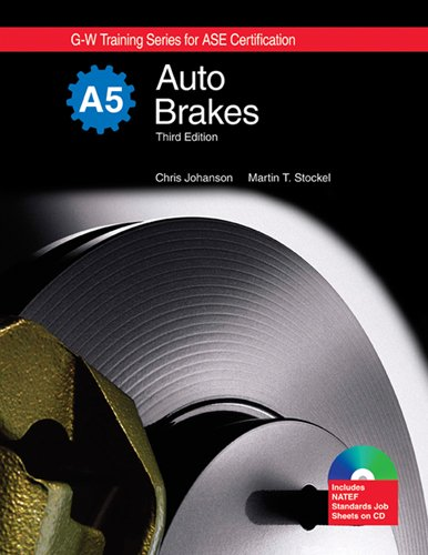9781605250496: Auto Brakes, A5 (G-w Training Series for Ase Certification)