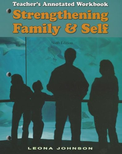 9781605251127: Strengthening Family and Self: Teacher's Annotated Workbook
