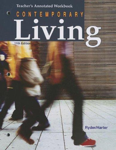 9781605251356: Contemporary Living Teacher's Annotated Workbook