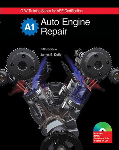 Auto Engine Repair (G-W Training Series) Textbook: James E. Duffy