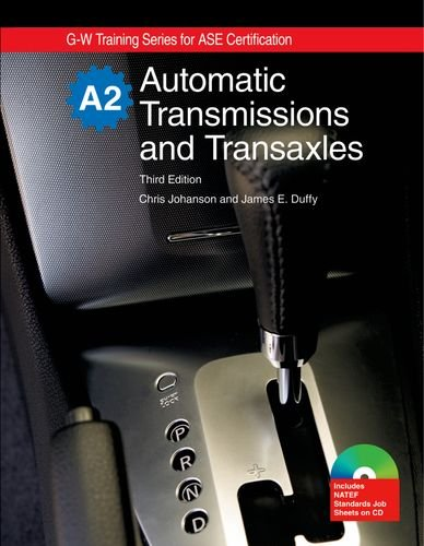 9781605252032: Automatic Transmissions and Transaxles: A2 (G-W Training for Ase Certification)