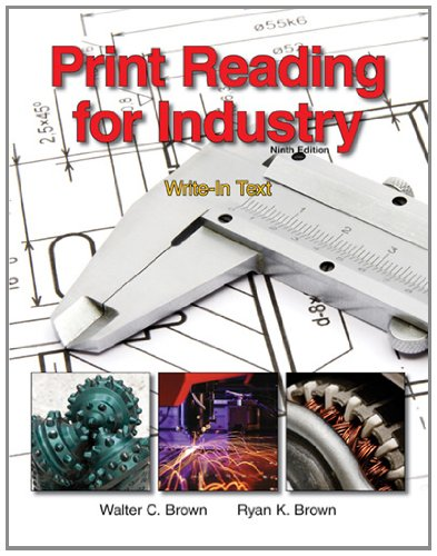9781605253084: Print Reading for Industry
