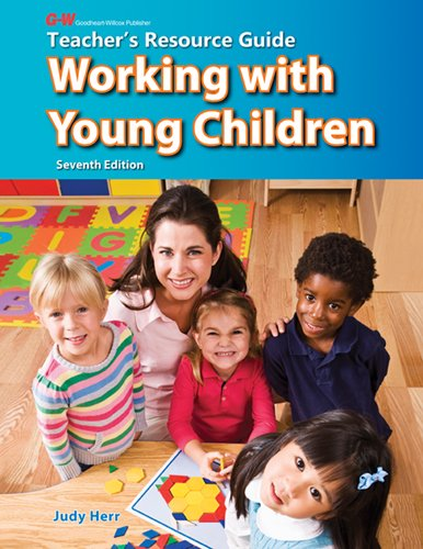 9781605254401: Working with Young Children Teacher's Resource Guide