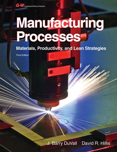 Manufacturing Processes: Materials, Productivity, and Lean Strategies: Duvall, John Barry; Duvall, ...