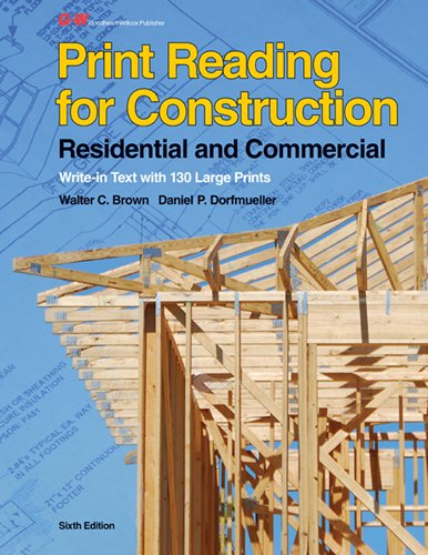 9781605258027: Print Reading for Construction: Residential and Commercial