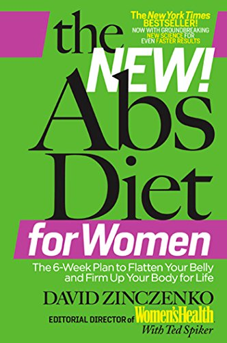 9781605293158: The New Abs Diet for Women: The Six-Week Plan to Flatten Your Stomach and Keep You Lean for Life