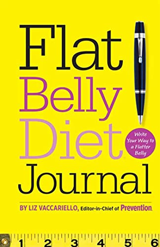 9781605294032: Flat Belly Diet! Journal: Write Your Way to a Flatter Belly