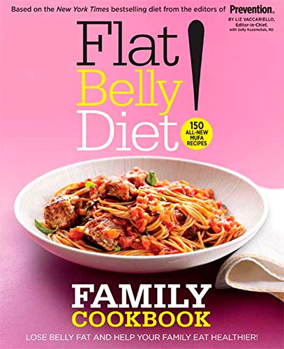 9781605294599: Flat Belly Diet! Family Cookbook