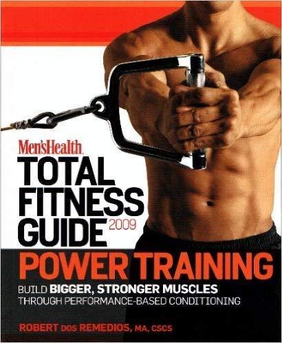 9781605298856: Power Training (Men's Health, Volume 2)