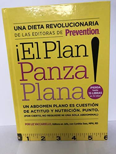 9781605299365: El Plan Panza Plana (un abdomen plano es cuestion de actitud y nutricion)