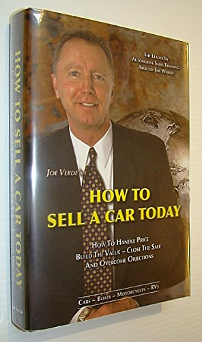 How To Sell A Car Today: Joe Verde