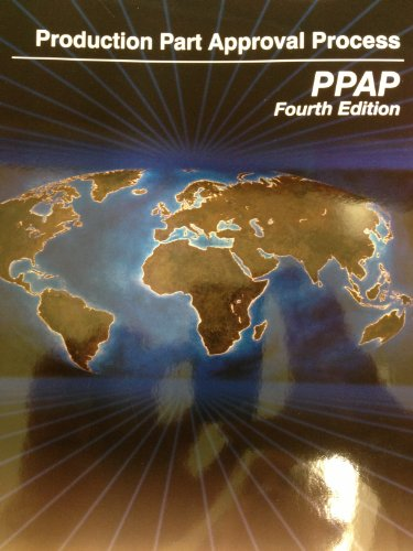 9781605340937: Production Part Approval Process (PPAP)