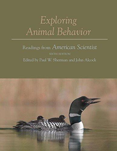 9781605351957: Exploring Animal Behavior: Readings from American Scientist, Sixth Edition