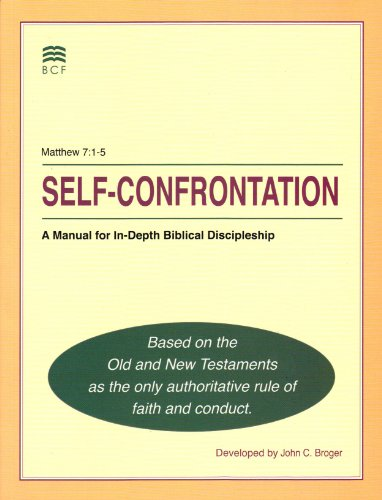 Self-confrontation a manual for in-depth discipleship pdf free