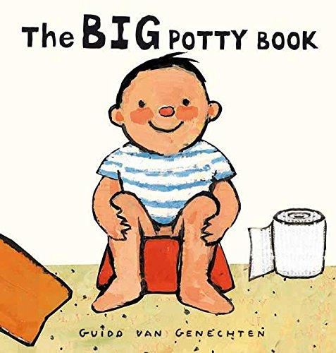 The Big Potty Book (Big Board Books): Van Genechten, Guido