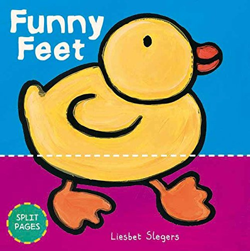 Funny Feet (Funny Board Books): Slegers, Liesbet