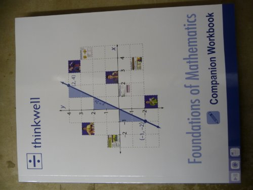 9781605380483: Thinkwell: Foundations of Mathematics Companion Workbook