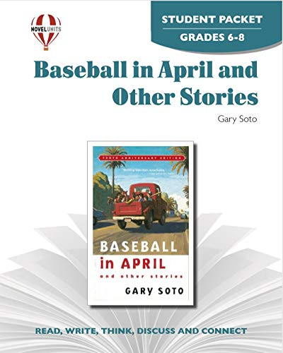 9781605390093: Baseball in April and Other Stories - Student Packet by Novel Units, Inc.