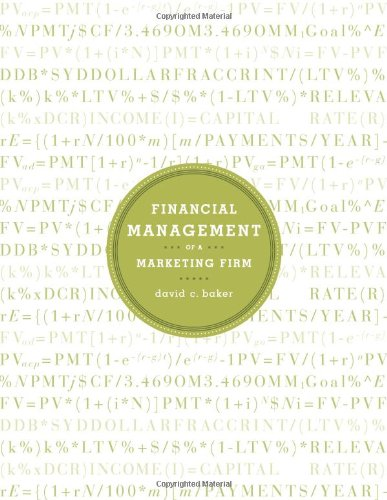 9781605440064: Financial Management of a Marketing Firm