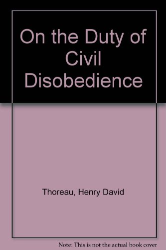 an overview of the civil disobedience by henry david thoreau Complete summary of henry david thoreau's civil disobedience enotes plot summaries cover all the significant action of civil disobedience.