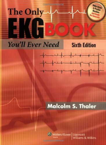 9781605471402: The Only EKG Book You'll Ever Need (Thaler, Only EKG Book You'll Ever Need)