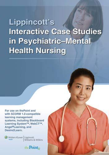 9781605473567: Lippincott Interactive Case Studies in