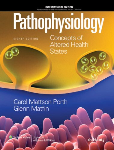 9781605473901: Pathophysiology: Concepts of Altered Health States, Eighth Edition: International Edition