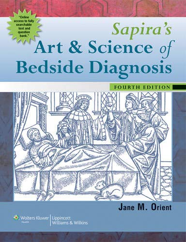 9781605474113: Sapira's Art and Science of Bedside Diagnosis