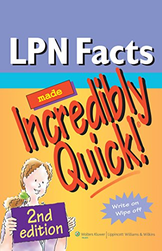 LPN Facts Made Incredibly Quick! (Incredibly Easy!: Lippincott