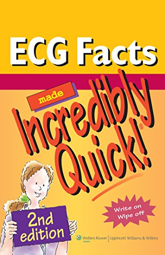 9781605474762: ECG Facts Made Incredibly Quick! (Incredibly Easy! Series®)