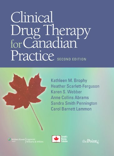 9781605475172: Clinical Drug Therapy for Canadian Practice
