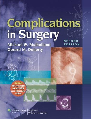 9781605475301: Complications in Surgery