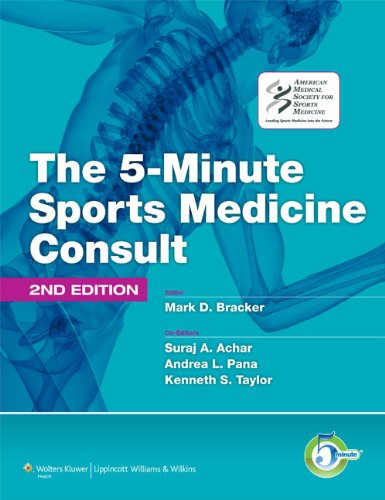 9781605476681: The 5-Minute Sports Medicine Consult (The 5-Minute Consult Series)